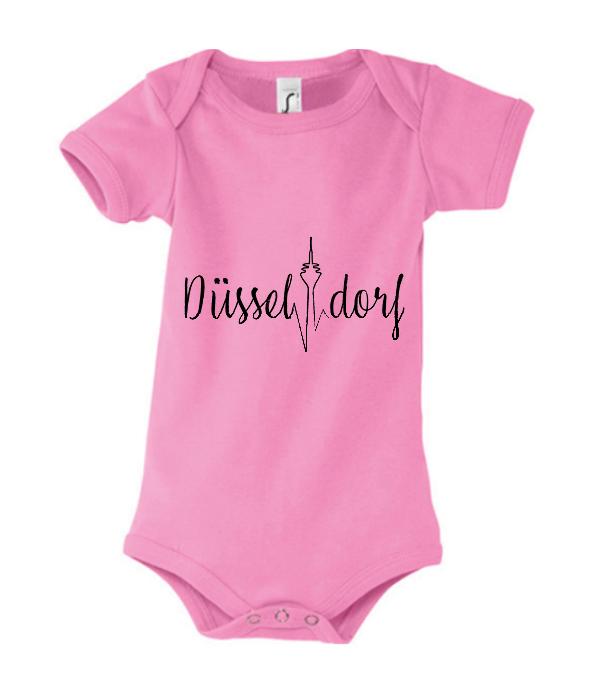 Herzschlag Baby Body pink